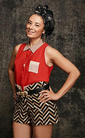 Cleveland designer Valerie Mayen competes on this season of Project Runway All Stars